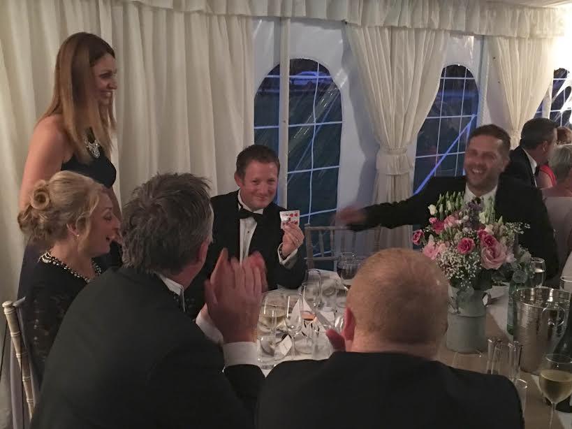 Kat Hudson Wedding Magician
